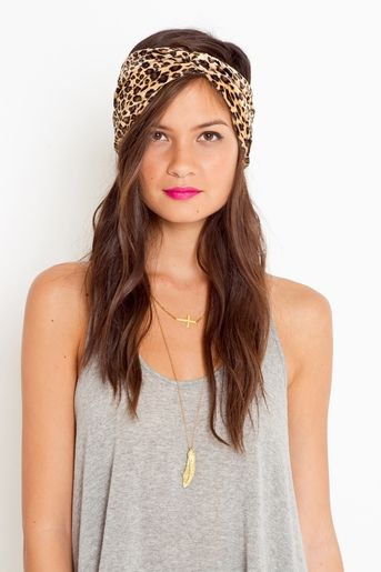 I want to try a cute turband or head wrap. Saw a girl wearing this and I loved it! Not sure if I could pull it off.