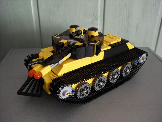 The Armoury: [BB16] Briktopian Annihilator Heavy Tank, by Duerer