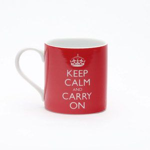 Keep Calm And Carry On Mug, $16, now featured on Fab.