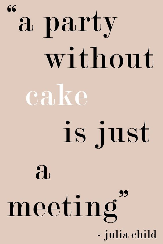 A Party Without Cake Is Just A Meeting - Or Is It? - 5 Birthday Cake Alternatives   Sundays and Somedays: