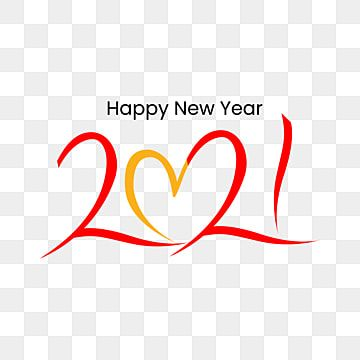Happy New Year Red Gradient Year Of The Love Png And Vector With Transparent Background For Free Download New Year Wishes Images Happy New Year Images Happy New Year Pictures