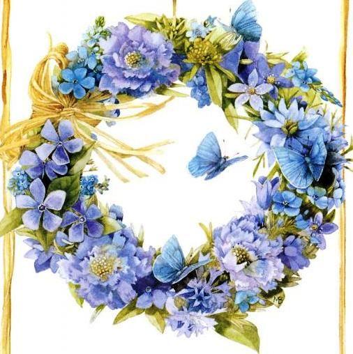 Motivos , ideias e cia: Coroas florais