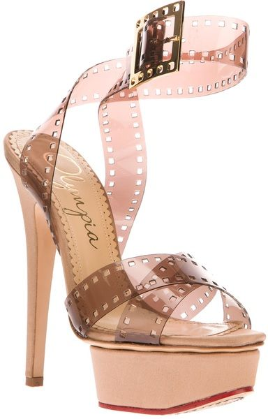 CHARLOTTE OLYMPIA   |  Film Stiletto Sandal |  my sexy shoes 2: