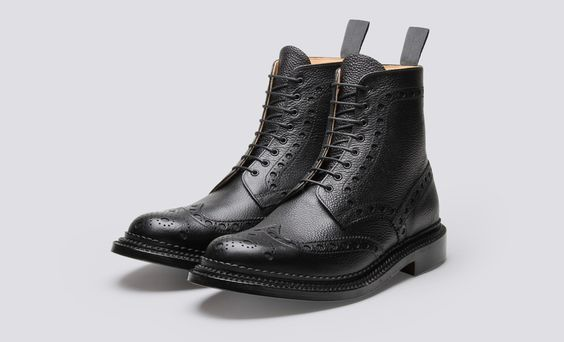 Grenson's new Triple Welt line - blk boots - GQ.COM (UK)