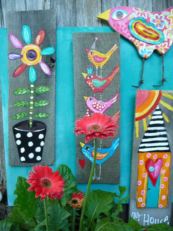 Our House Repurposed Art Sale by evesjulia12 on Etsy