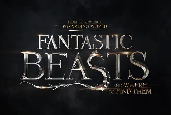 fantastic beasts where find them logo Fantastic Beasts & Where to Find Them Official Movie Logo Unveiled