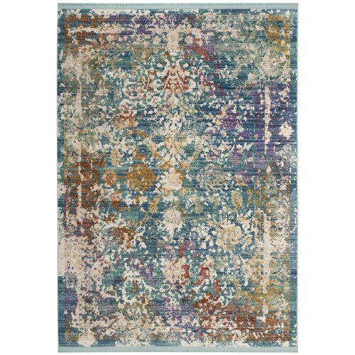 Justine Abstract Green Beige Purple Area Rug Purple Area Rugs Area Rugs Lavender Area Rug
