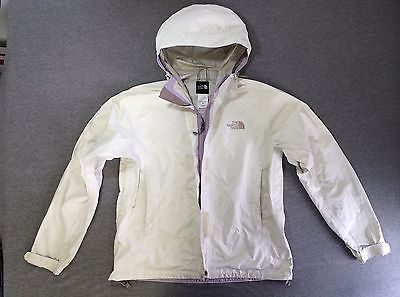 The NORTH FACE HyVent DT Rain Jacket Women's Small Nylon White ...
