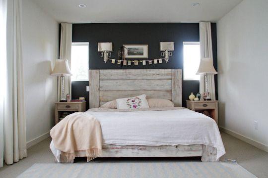 rustic romance bedroom
