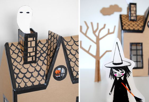 Mer Mag | Haunted House DIY