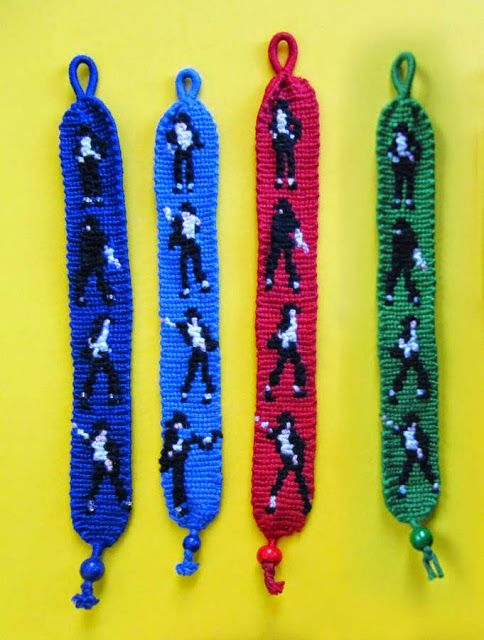 Applehead: MJ Knot Bracelets
