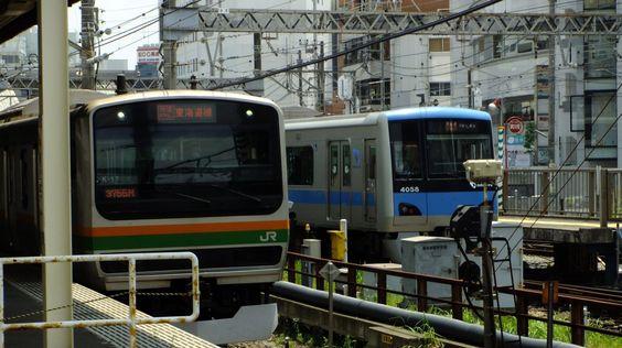 藤沢駅 東海道線と小田急線