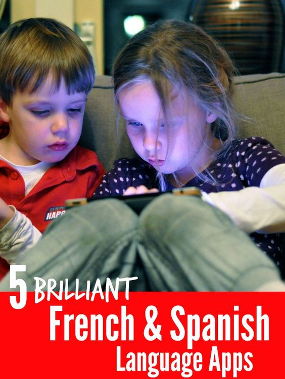 We've put together a list of the BEST language Apps for teaching preschoolers French and Spanish. Take a look and get started with a second language!