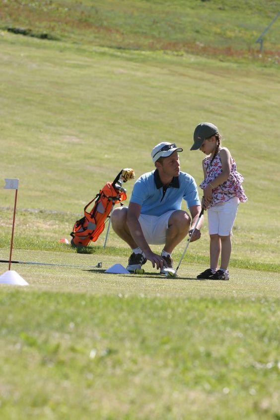Initiation au golf à Avoriaz