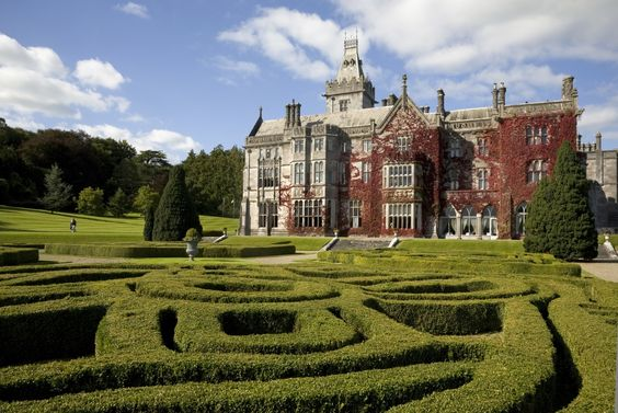 Adare Manor, outside Limerick city is one of Ireland's most famous House and Gardens!