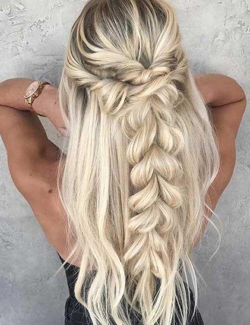 Trendbobfrisuren Com Flechten Lange Haare Geflochtene Frisuren Erstaunliche Frisuren