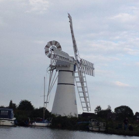 Thurne mill Norfolk