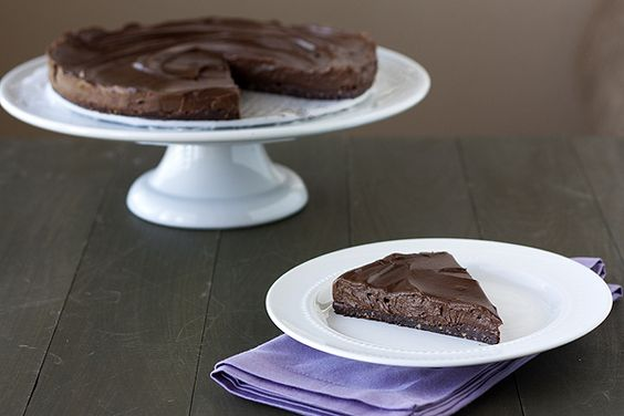 Handle the Heat » No-Bake Vegan & Gluten Free (Avocado) Chocolate Torte
