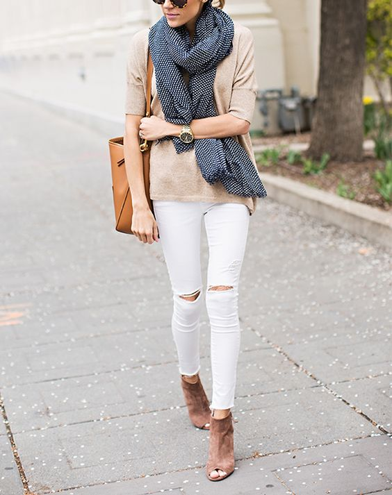 6 Essentials to Transition Your Wardrobe from Winter to Spring via @PureWow: