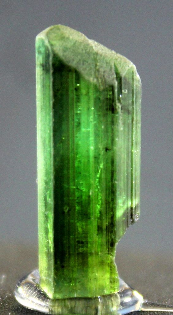 8.50 carats Top Quality Natural Terminated Neon Green by GemzLand