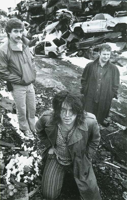 Greg Norton, Grant Hart & Bob Mould. Between 1979 and 1987 Hüsker Dü. My all time favourite band.