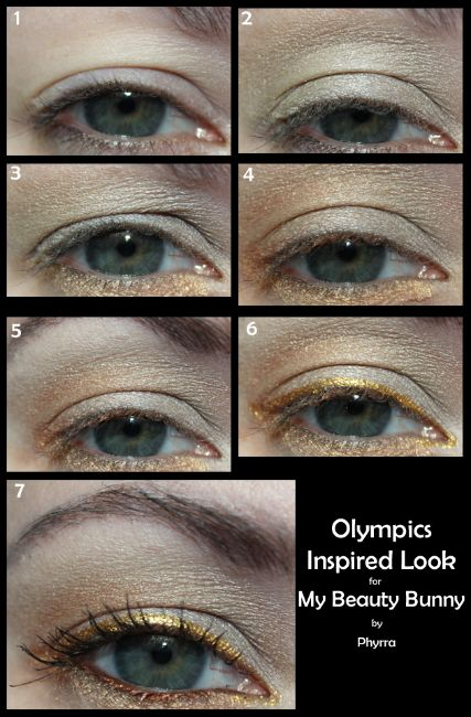 #crueltyfree Go for the Gold! Olympics inspired makeup tutorial by @Phyrra Nyx