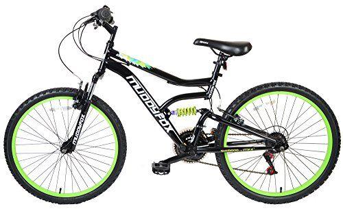 24 Delta Mens Kids Bike Small Adult Muddyfox Bicycle In Black