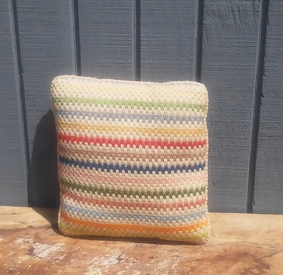 Vintage Pillow 12 x 12 by theindustrycottage on Etsy