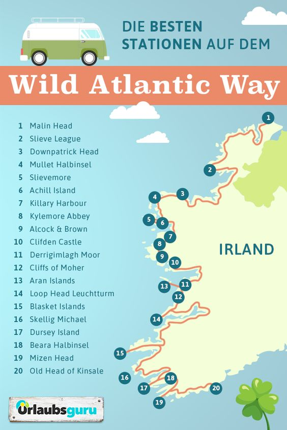 Road Trip Through Ireland On The Wild Atlantic Way Vacation Guru
