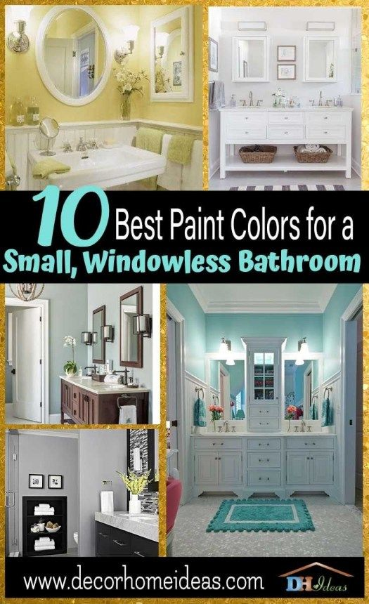 13 Suggestions What Color To Paint A Small Bathroom With No