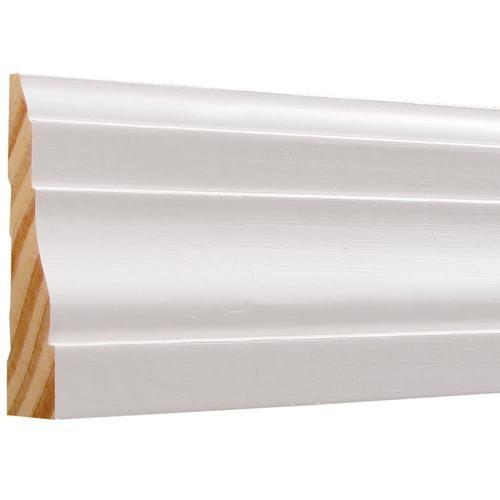 Shop Evertrue 2 1 4 In X 7 Ft Interior Wood Casing Actual 2 25 In X 7 Ft In The Window Door Moulding Section Of Lowes Co Door Casing Door Molding Interior