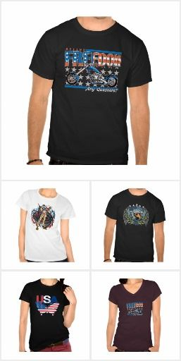 Patriotic T-shirts for Men or Women
