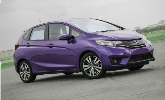 2015 Honda Fit Ex Purple