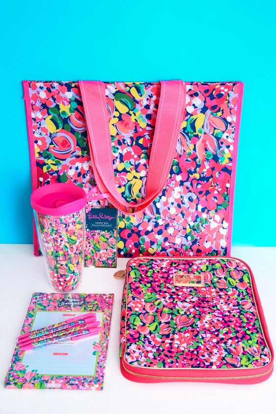 (EXCLUSIVE) Lilly Pulitzer Limited Edition Back to School Bundle-Wild Confetti - Home & Office | The Red Dress Boutique