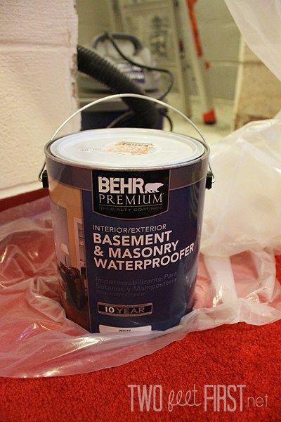 waterproof basement walls