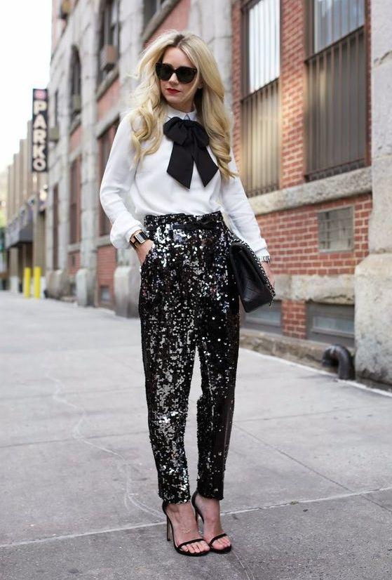 Pantalon de lentejuelas: