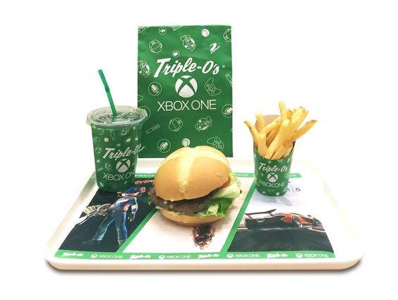 Microsoftの「Xbox One」がハンバーガーショップとまさかのコラボレーション - GIGAZINE