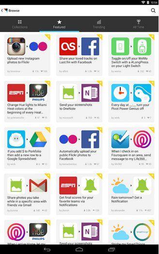 IFTTT finalmente y luego de casi un año de haber lanzado su app para iOS, lanza una versión para Android.