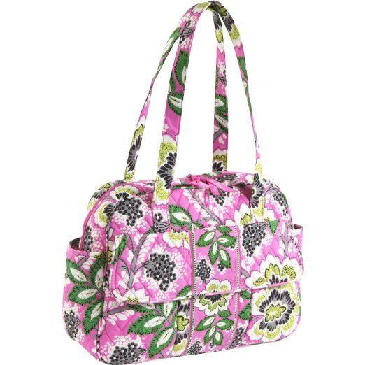 Vera Bradley,Diaper bag.  Strap too short though?