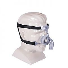 Designed for Petite facial features.  Provides a better fit, greater comfort and ease of use for those patients who find most standard CPAP masks to be too large for their noses.