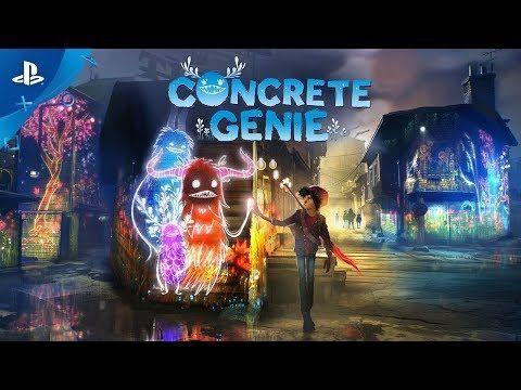 لعبة الاكشن والمغامرات الجديدة من سوني Concrete Genie تحصل على موعد إصدار رسمي Genies Shadow Of The Colossus Ps4 Exclusives