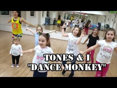 Dance Monkey Zumba Kids Choreography Youtube En 2020 Danza Y