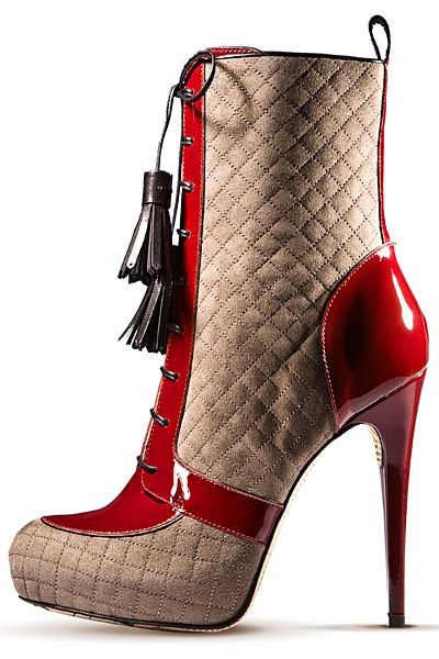 John Galliano boot