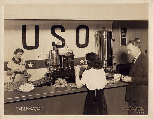 USO Glen Martin; Middle River, MD 1941 | Flickr.com - VintageStitches | #USO