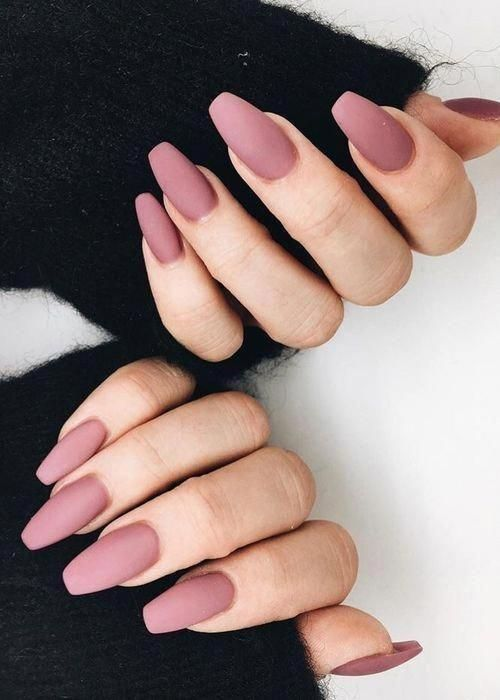 I Like These Stilettoacrylicnails Mauvenails Unas Para Nochevieja Unas De Maquillaje Manicura De Unas