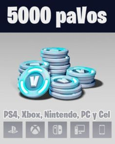 5000 Pavos Fortnite Xbox Gift Card Ps4 Gift Card Xbox Gifts