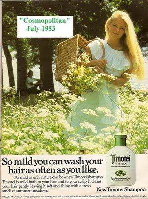 1983 Timotei shampoo ad.