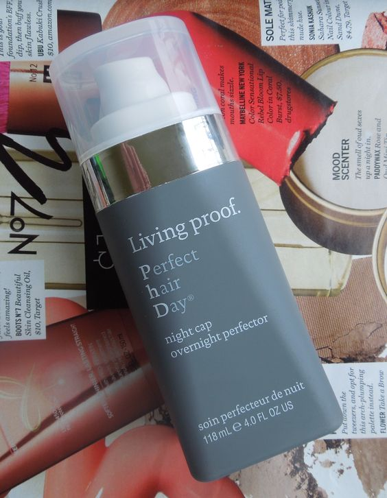 Living Proof Perfect Hair Day Night Cap Overnight Perfector: Apply this hair mask to dry hair overnight, then wash out in the morning. This made my hair so much shinier, smoother, and looked so much more healthier after just one use.