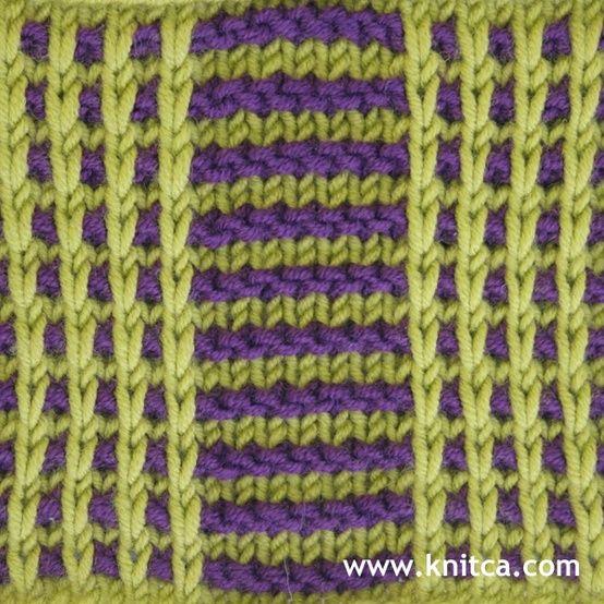 Right side of knitting stitch pattern   Slip Stitch 11. Knitting Pinteres...