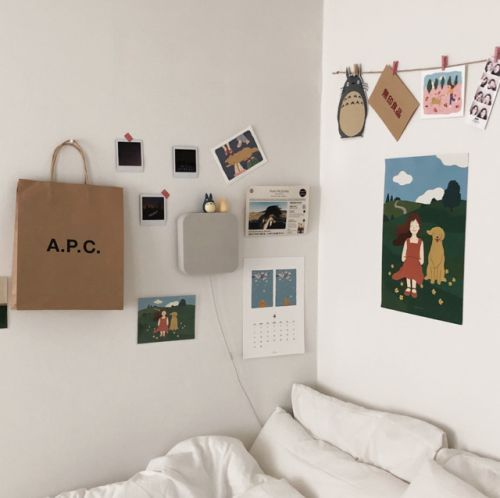 6 Creative Tips On How To Make A Small Bedroom Look Larger Dream Bedrooms Room Room Decor Aesthetic Room Decor